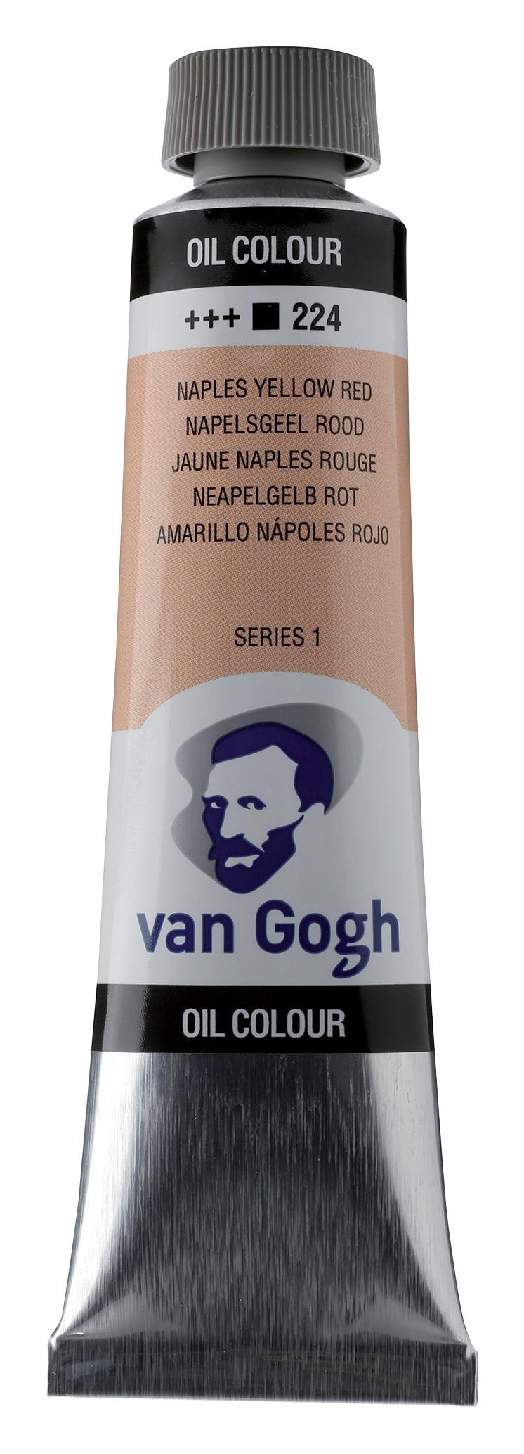 Van Gogh Oil Colour Tube 40 ml Naples Yellow Red 224
