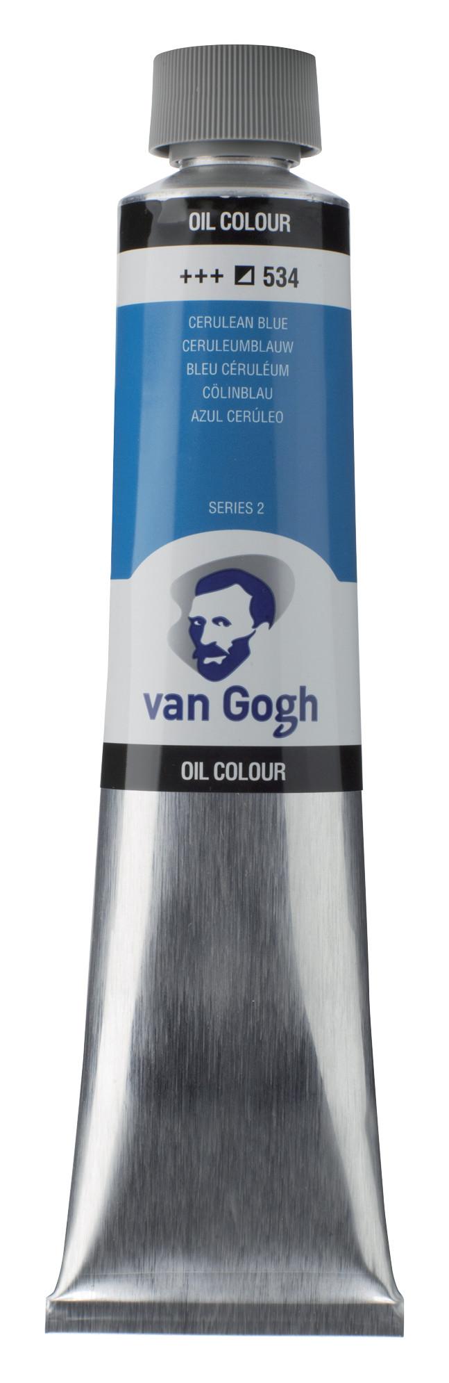 Van Gogh Oil Colour Tube 200 ml Cerulean Blue 534