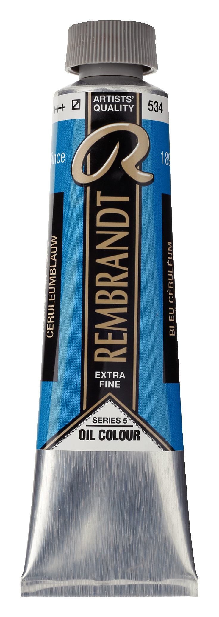 Rembrandt Oil colour Paint Cerulean Blue (534) 40ml Tube