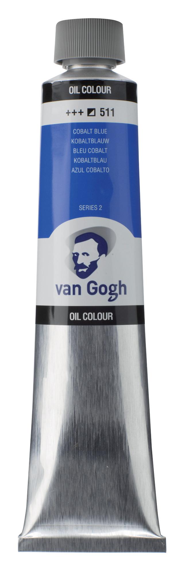 Van Gogh Oil Colour Tube 200 ml Cobalt Blue 511