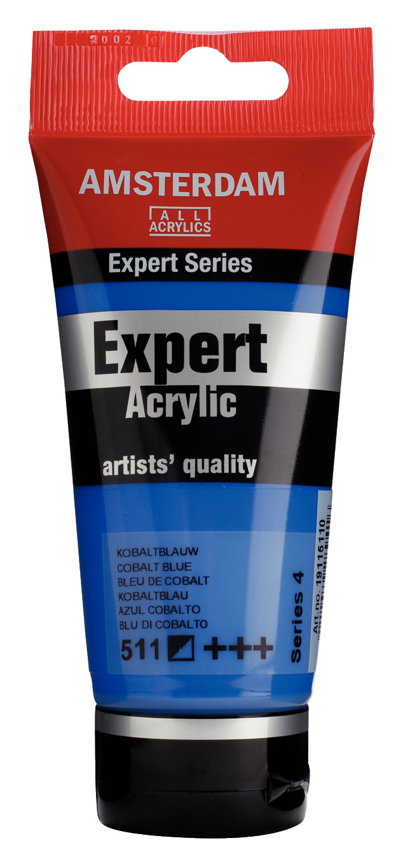Amsterdam Expert Series Acrylic Tube 75 ml Cobalt Blue 511