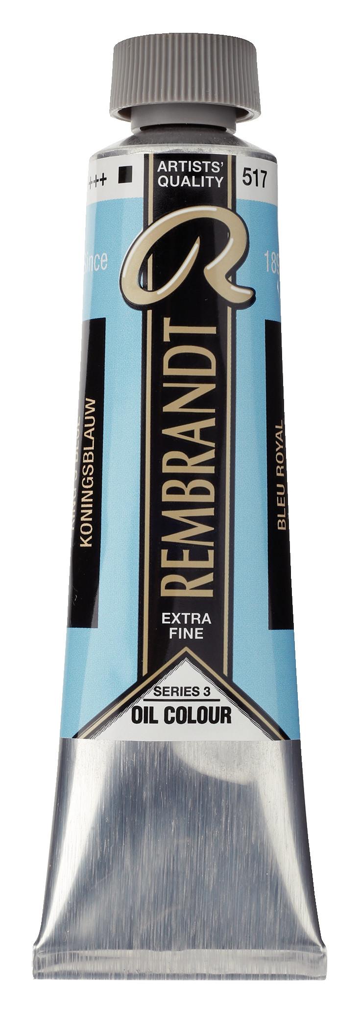Rembrandt Oil colour Paint King's Blue (517) 40ml Tube