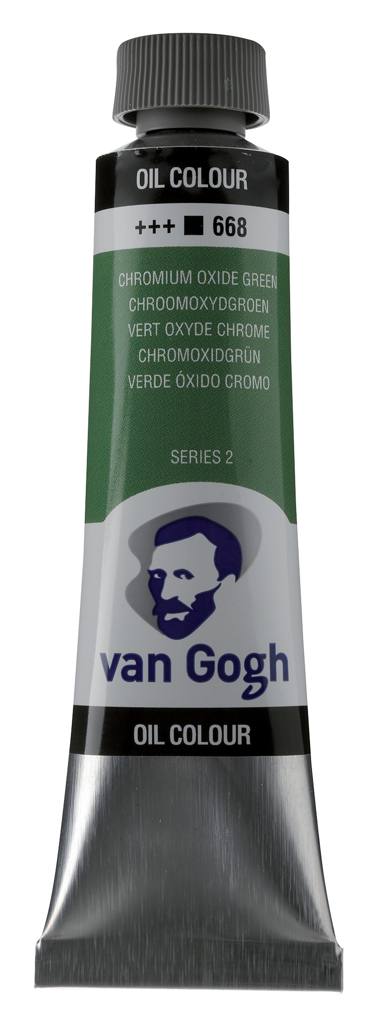 Van Gogh Oil Colour Tube 40 ml Chromium Oxide Green  668