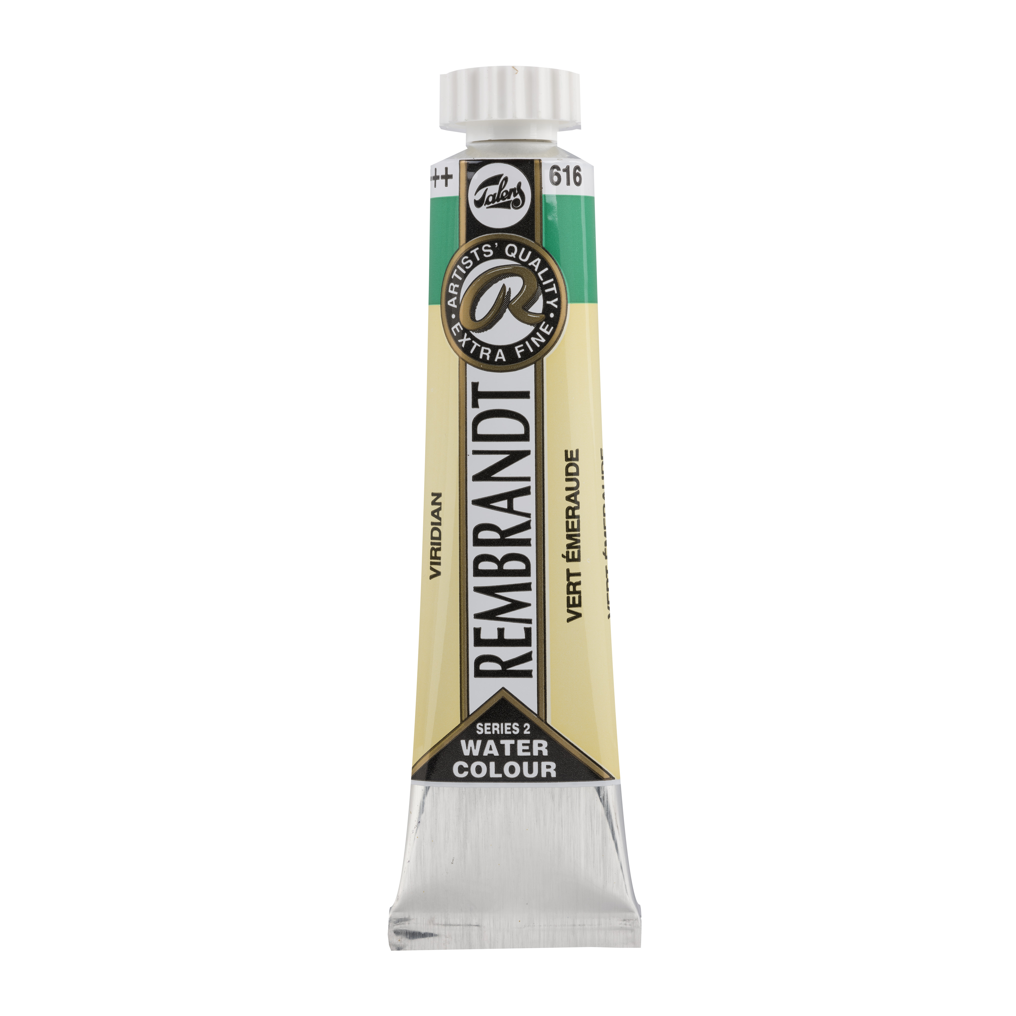 Rembrandt Professional Watercolour Paint, 20ml Tube, Viridian 616