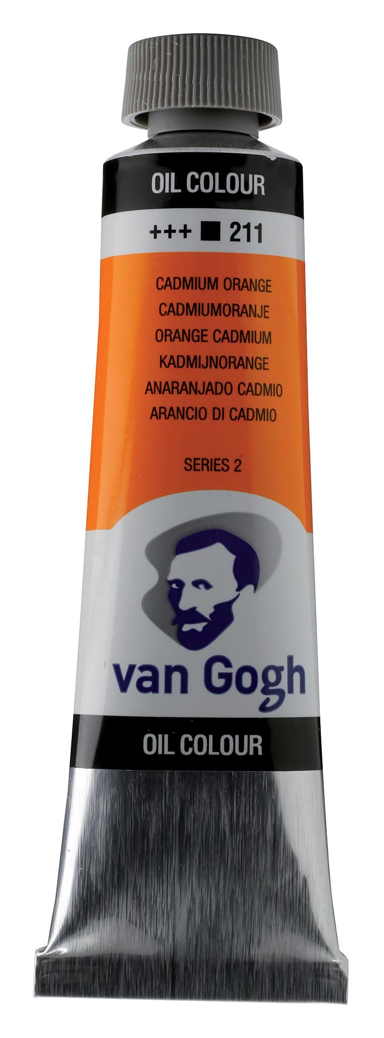 Van Gogh Oil Colour Tube 40 ml Cadmium Orange 211