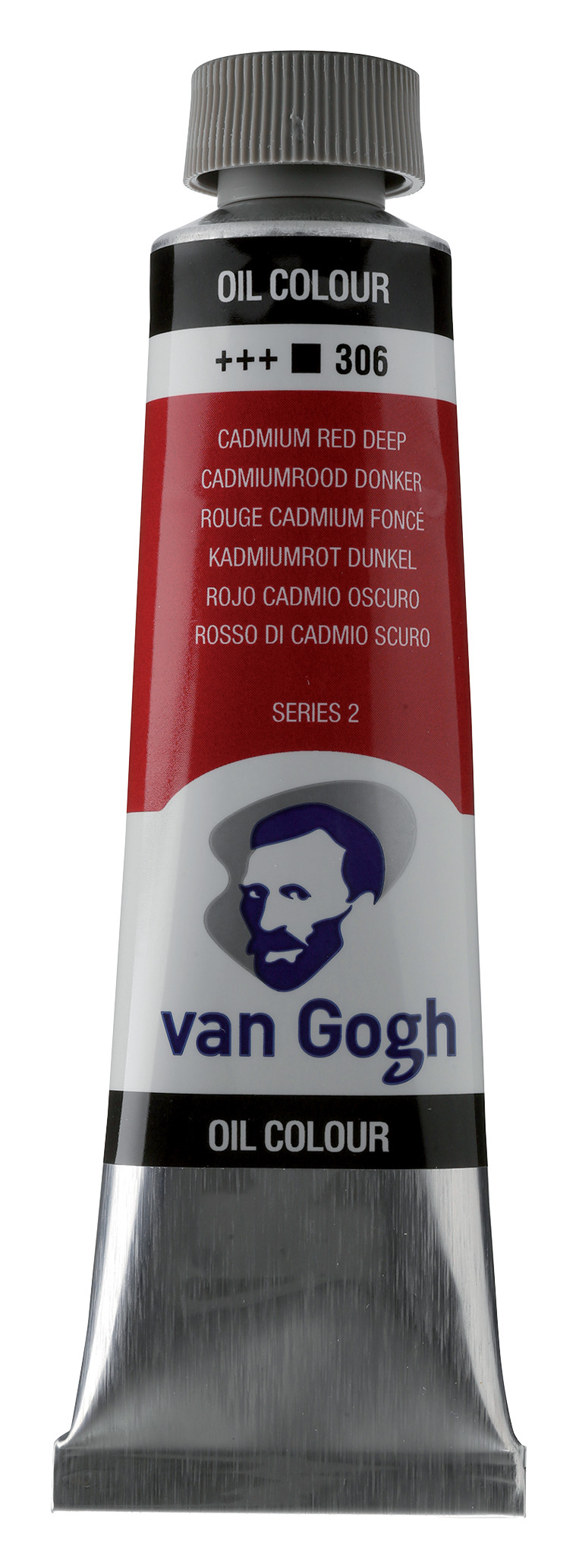 Van Gogh Oil Colour Tube 40 ml Cadmium Red Deep  306