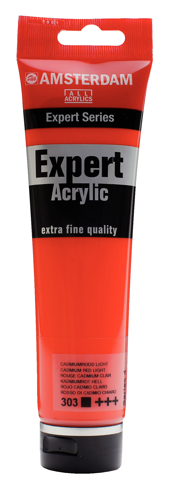 Amsterdam Expert Series Acrylic Tube 150 ml Cadmium Red Light 303
