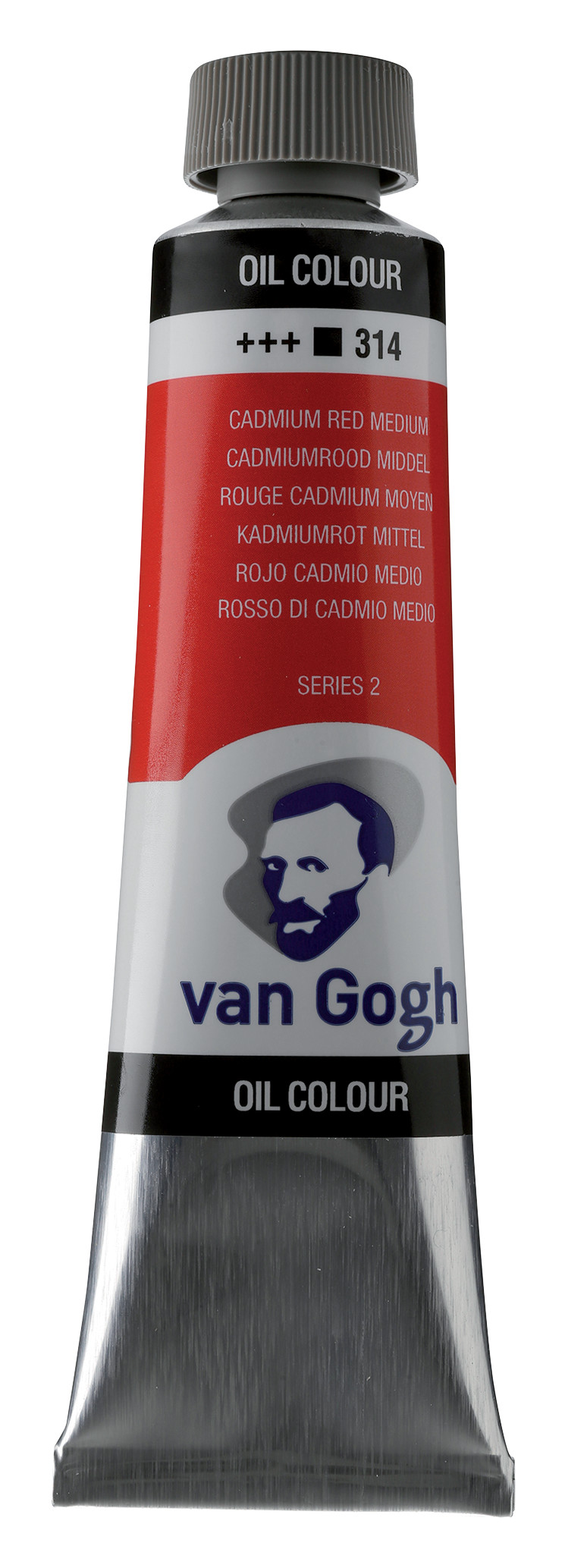 Van Gogh Oil Colour Tube 40 ml Cadmium Red Medium 314
