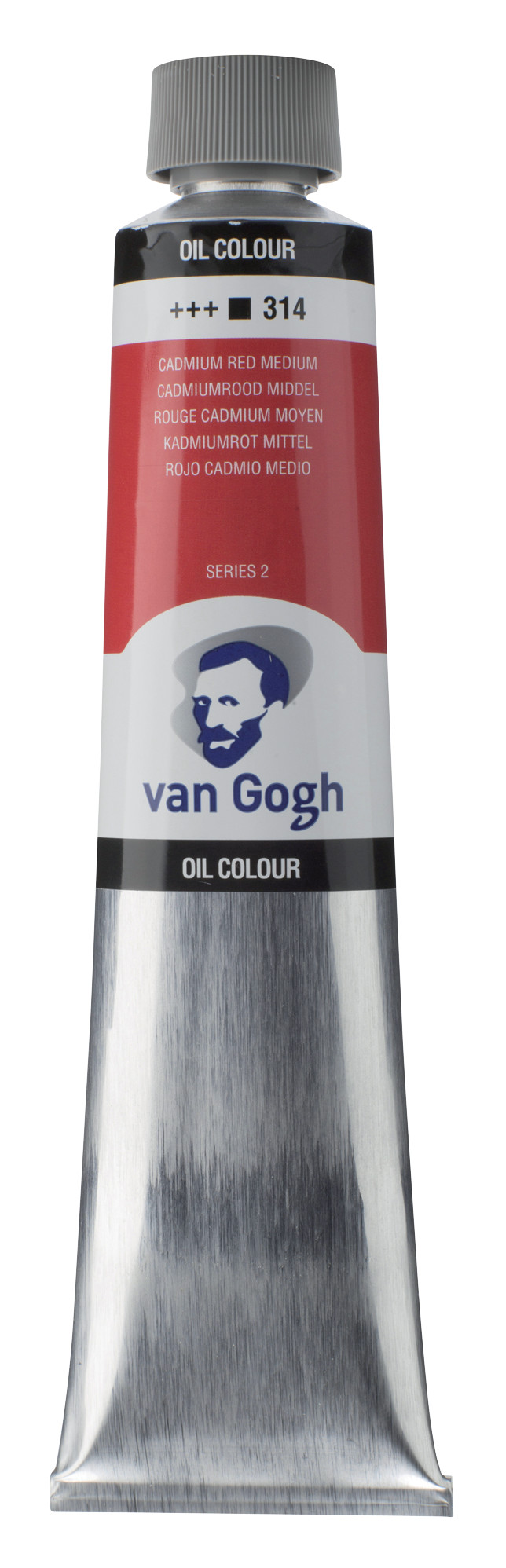 Van Gogh Oil Colour Tube 200 ml Cadmium Red Medium 314