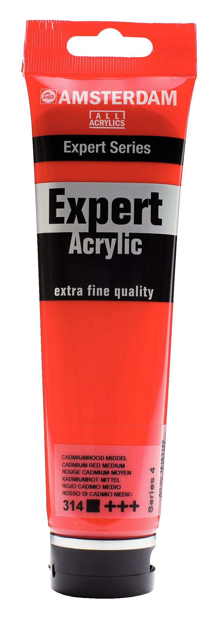 Amsterdam Expert Series Acrylic Tube 150 ml Cadmium Red Medium 314