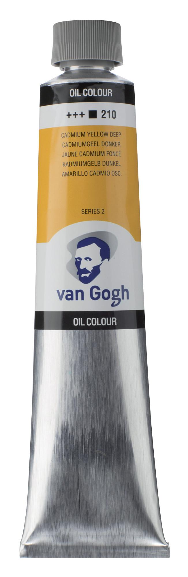 Van Gogh Oil Colour Tube 200 ml Cadmium Yellow Deep 210
