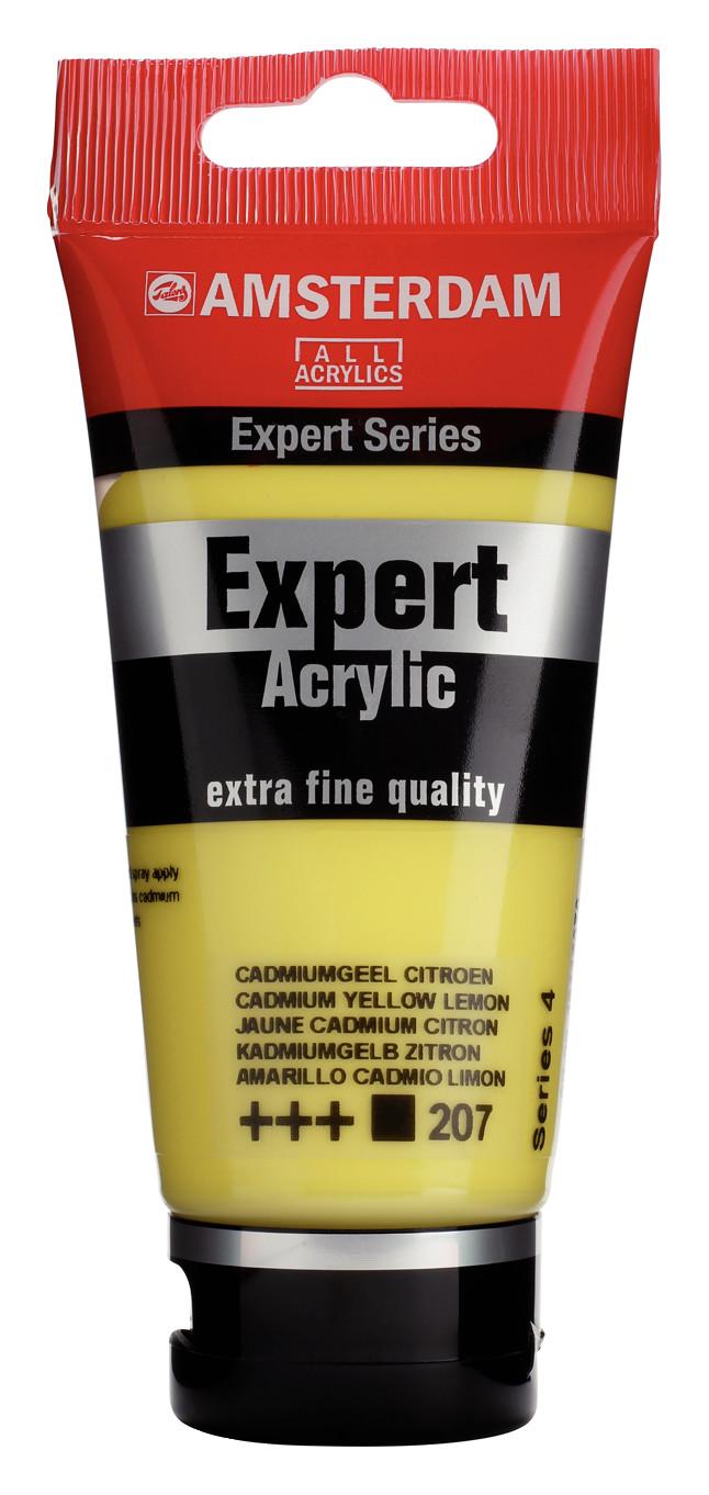 Amsterdam Expert Series Acrylic Tube 75 ml Cadmium Yellow Lemon 207