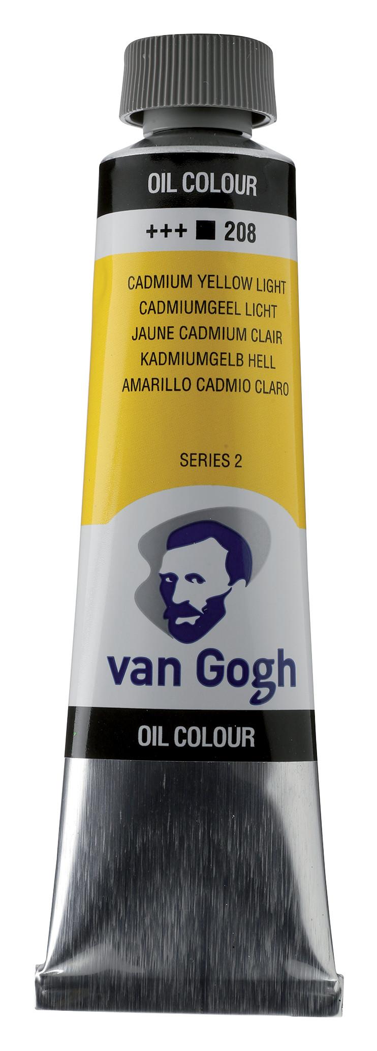 Van Gogh Oil Colour Tube 40 ml Cadmium Yellow Light 208