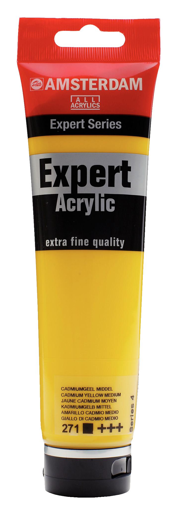Amsterdam Expert Series Acrylic Tube 150 ml Cadmium Yellow Medium 271
