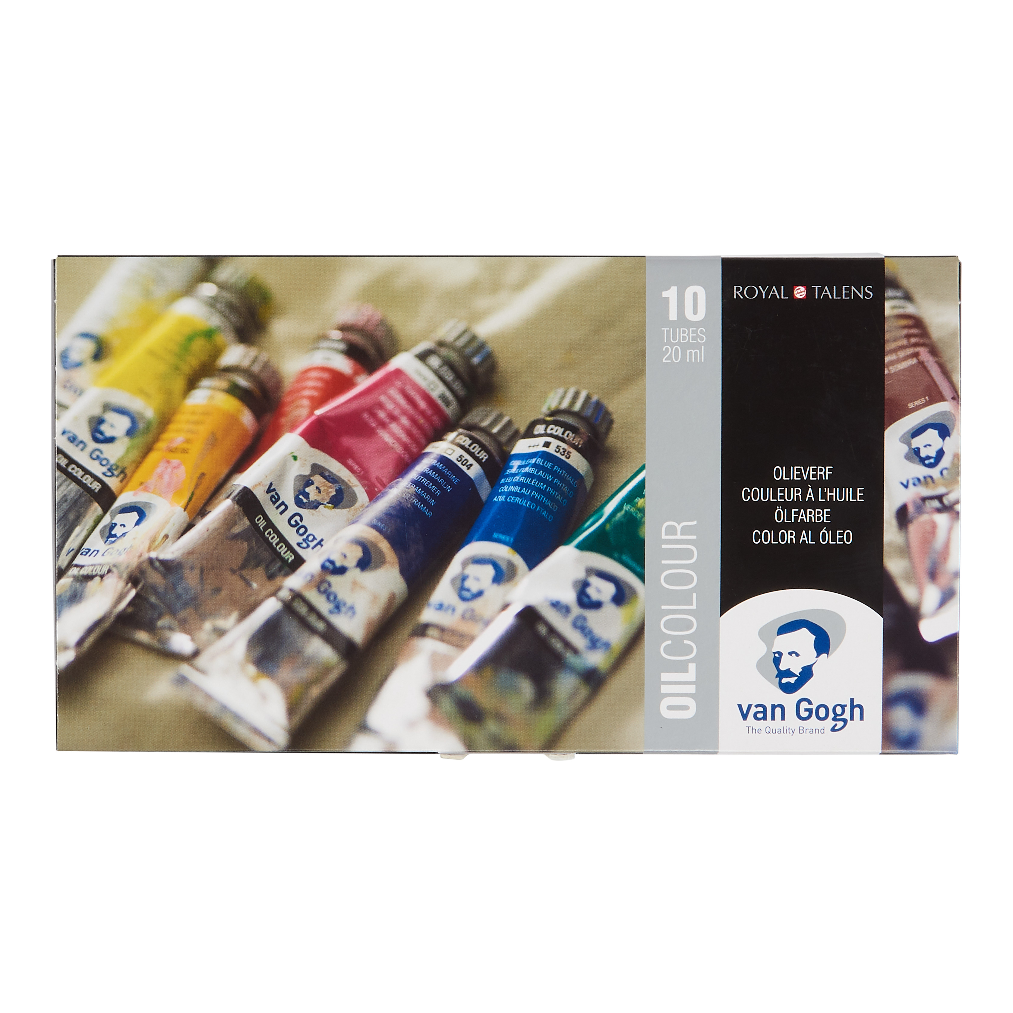 Van Gogh Oil Colour Basic Set with 10 Colours in 20ml Tube