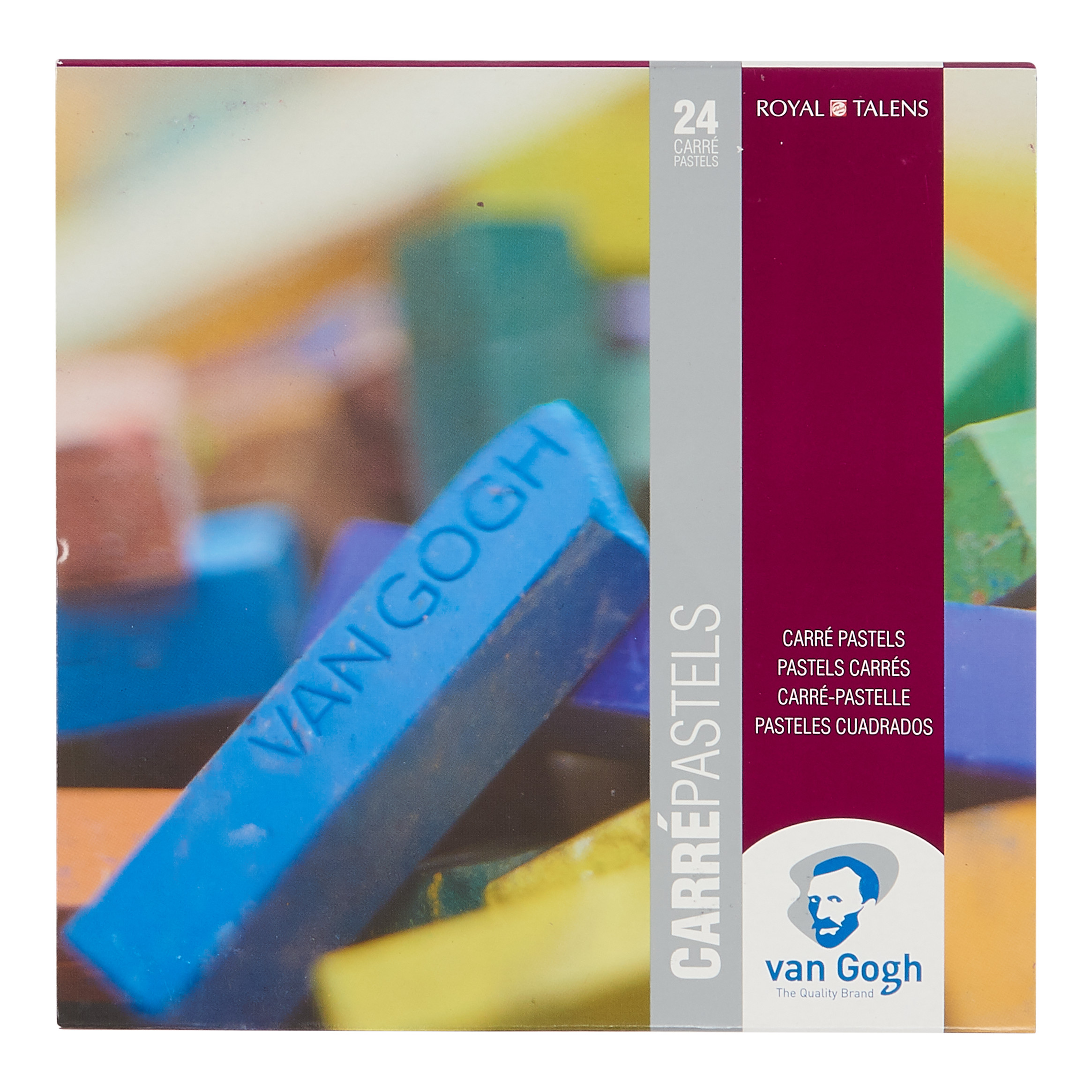 Van Gogh Carr? Pastels Basic Set with 24 Colours