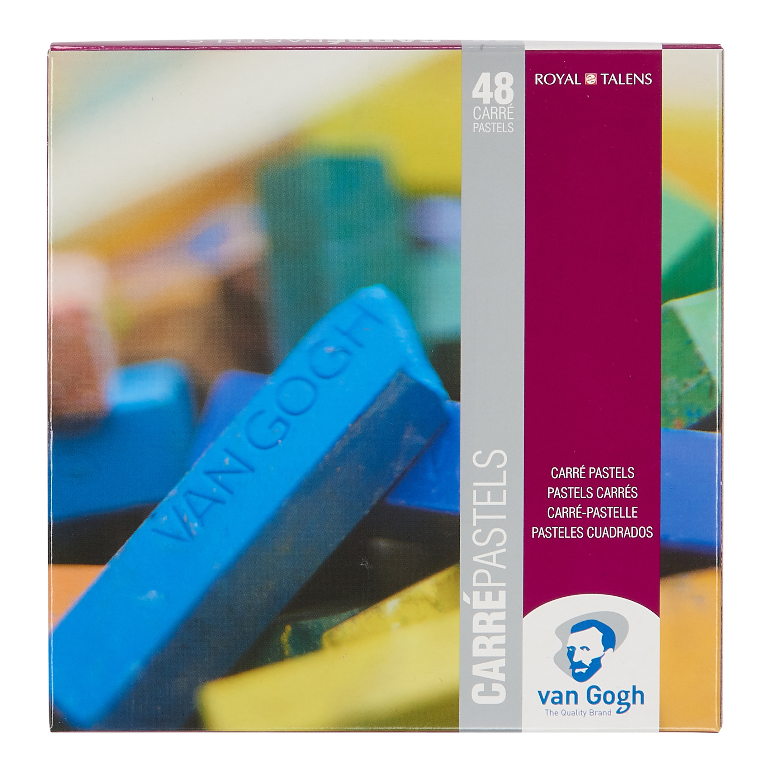 Van Gogh Carr? Pastels Advanced Set with 48 Colours