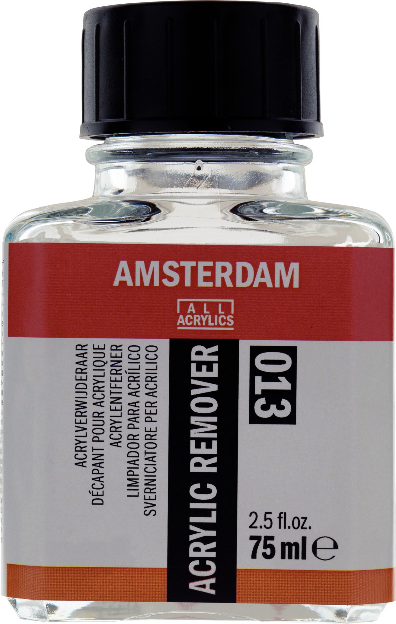 Amsterdam Acrylic Remover Bottle 75 ml