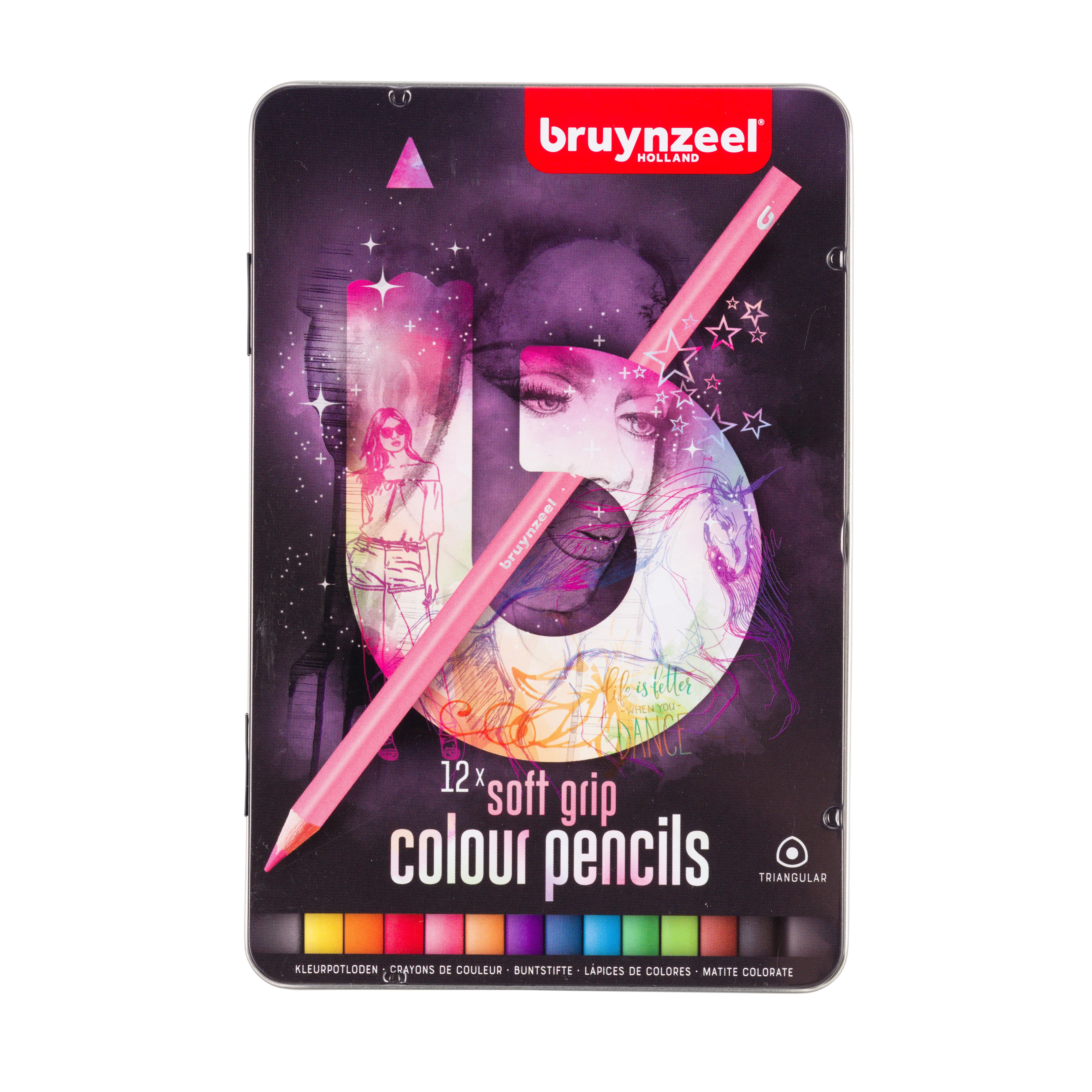 Bruynzeel Tin 12 Triple Soft Feel Light