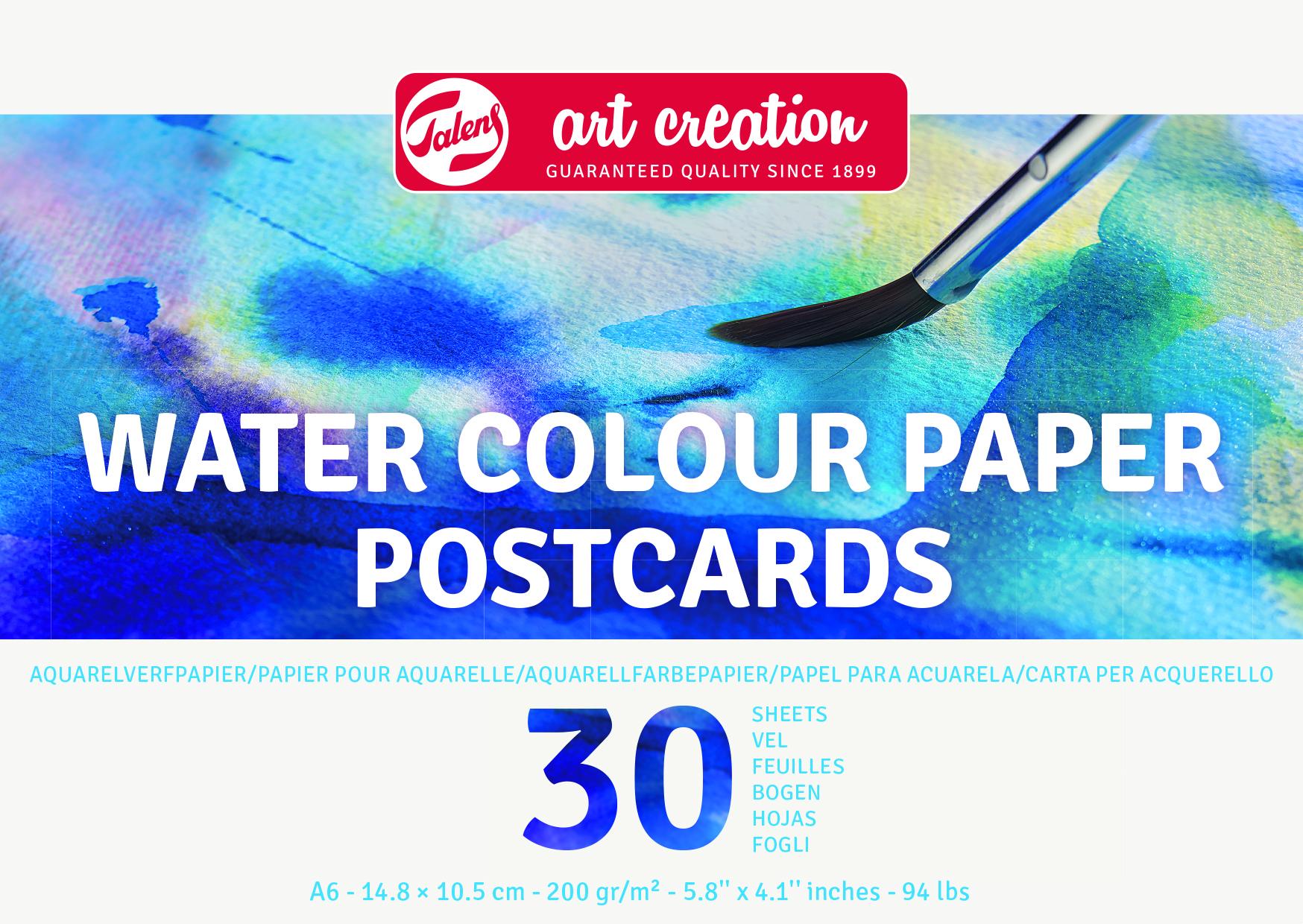 Talens Art Creation Water Colour Paper 10.5X14.8 cm, 200G, 30 Pages
