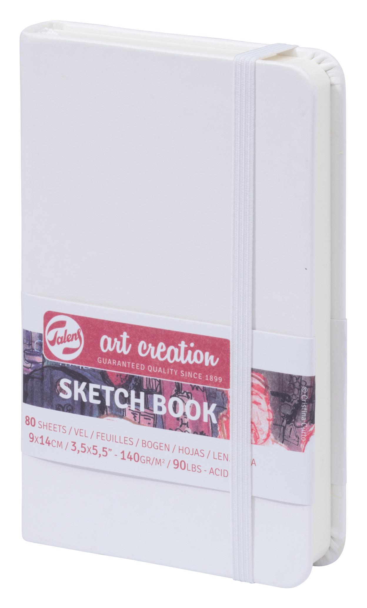 Talens Art Creation Sketchbook White 9X14 cm, 140 Grams