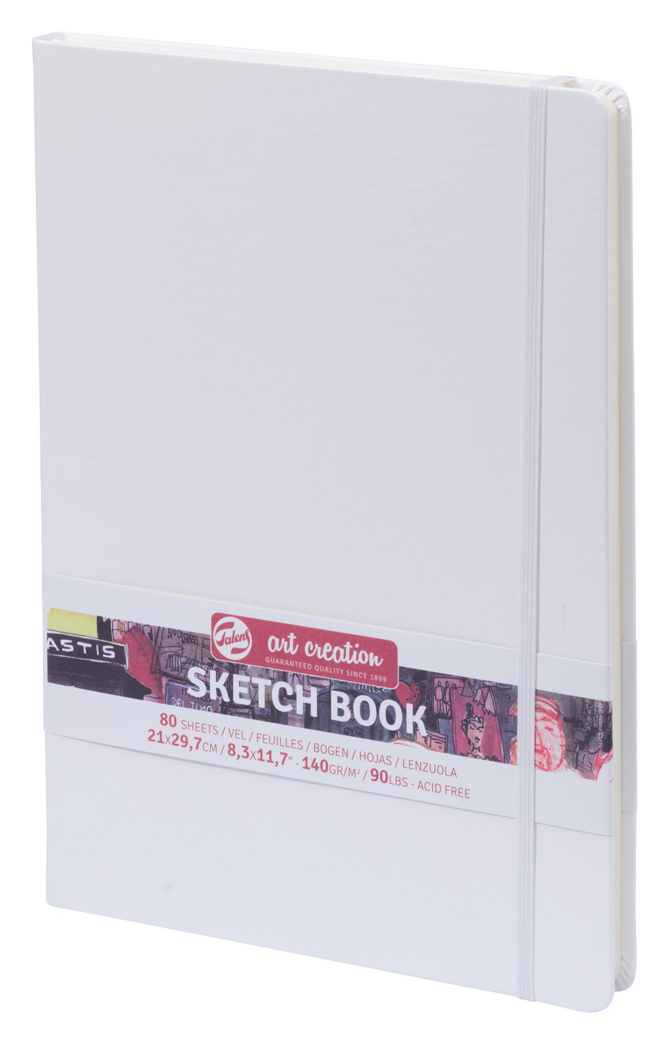 Talens Art Creation Sketchbook White 21X29,7 cm, 140 Grams