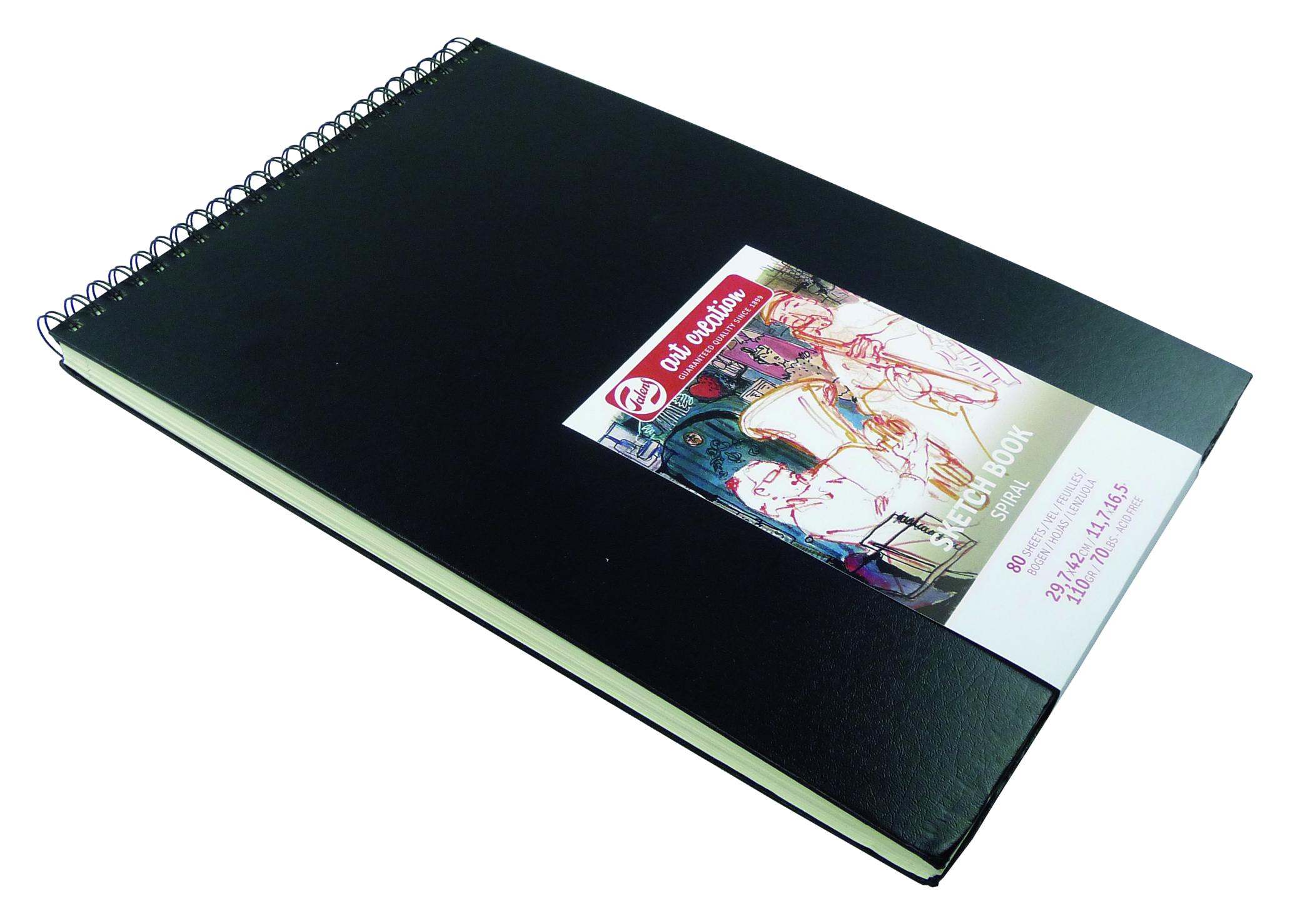 Talens Art Creation Sketchbook Spiral 42X29.7 cm, 80 Pages, 110Gr