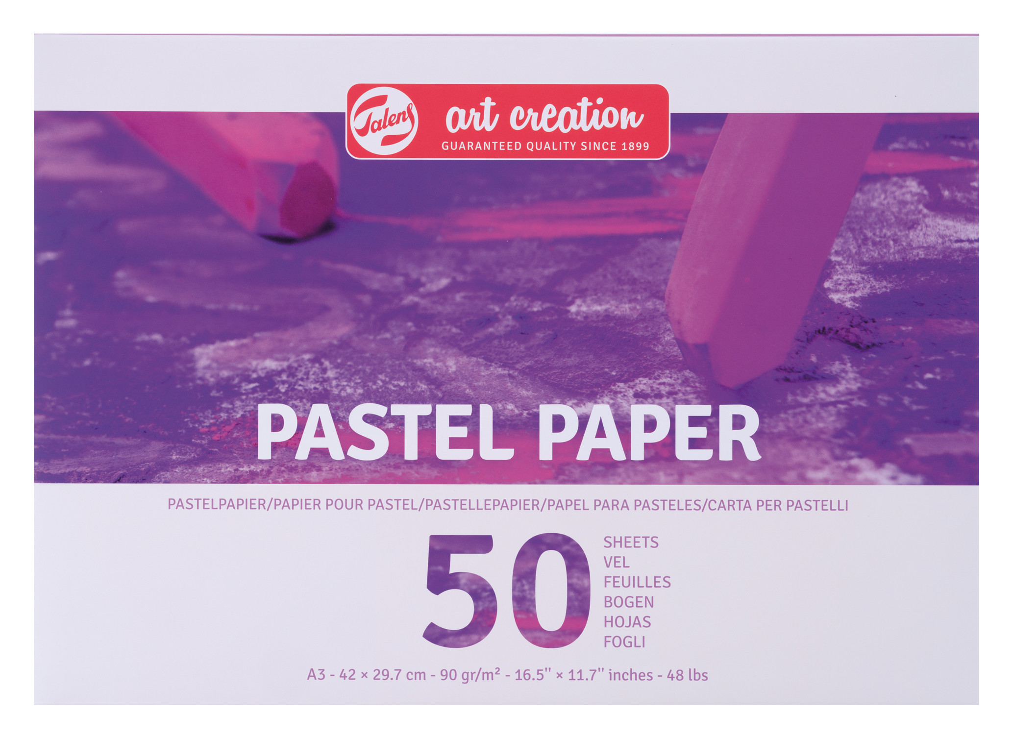 Talens Art Creation Pastel Paper A3, 100G, 50 Pages