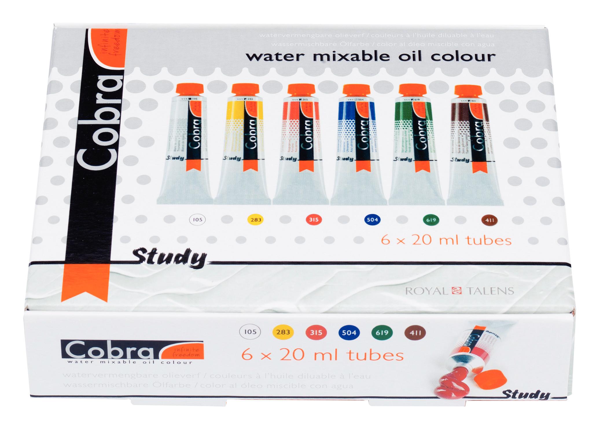 Cobra Study Set 6 X 20 ml