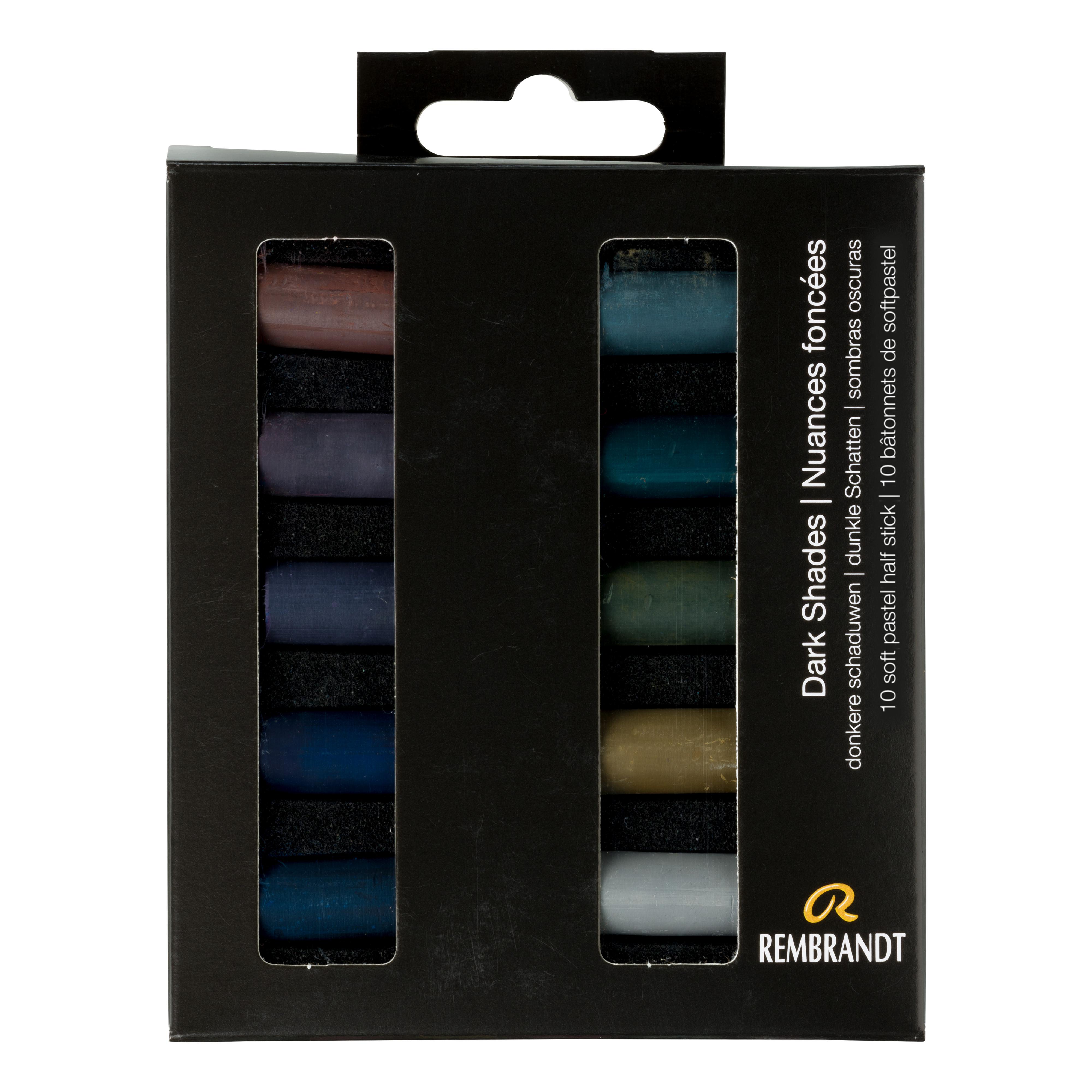 Rembrandt Soft Pastels Dark Shades Set
