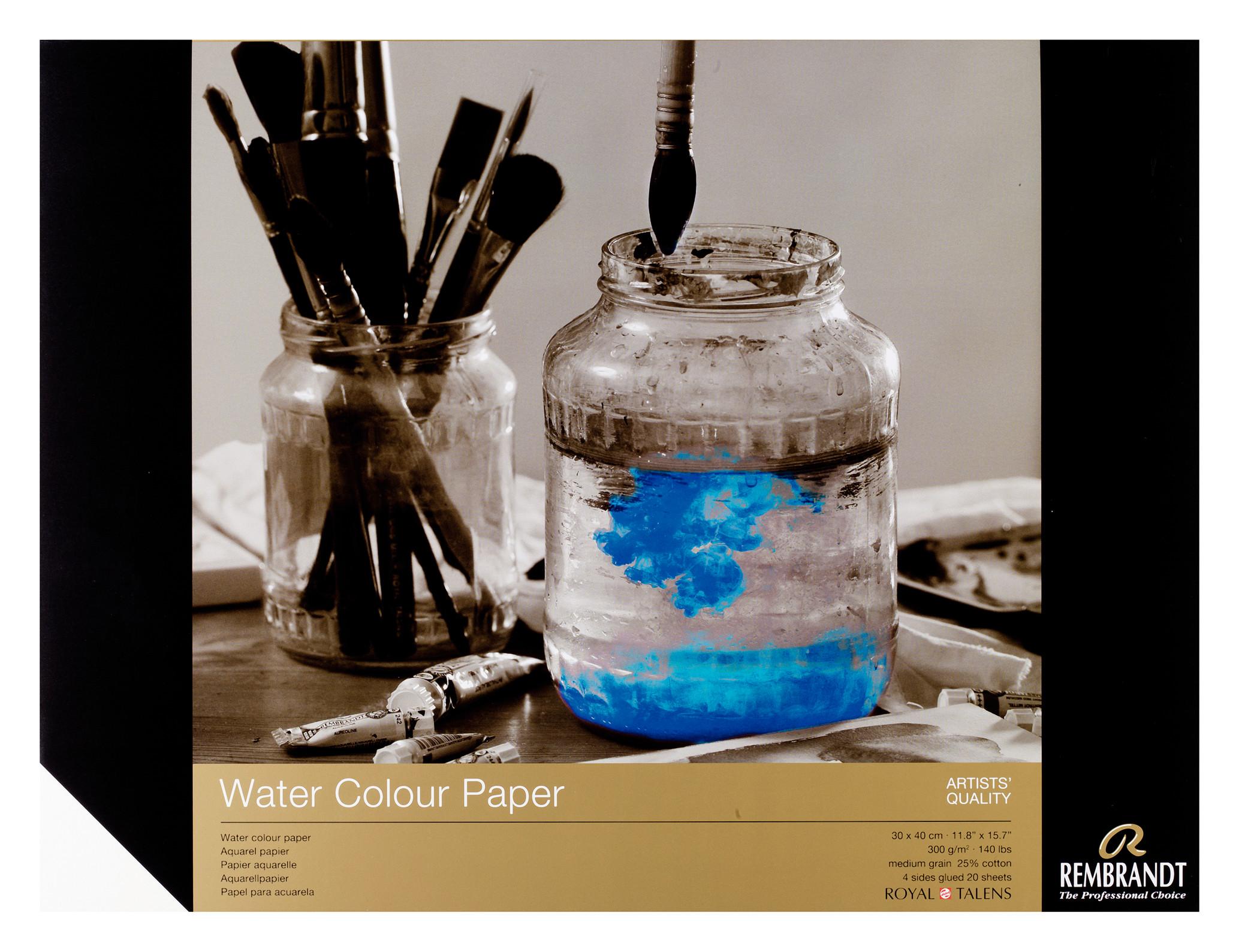 Rembrandt Water Colour Paper 30X40cm