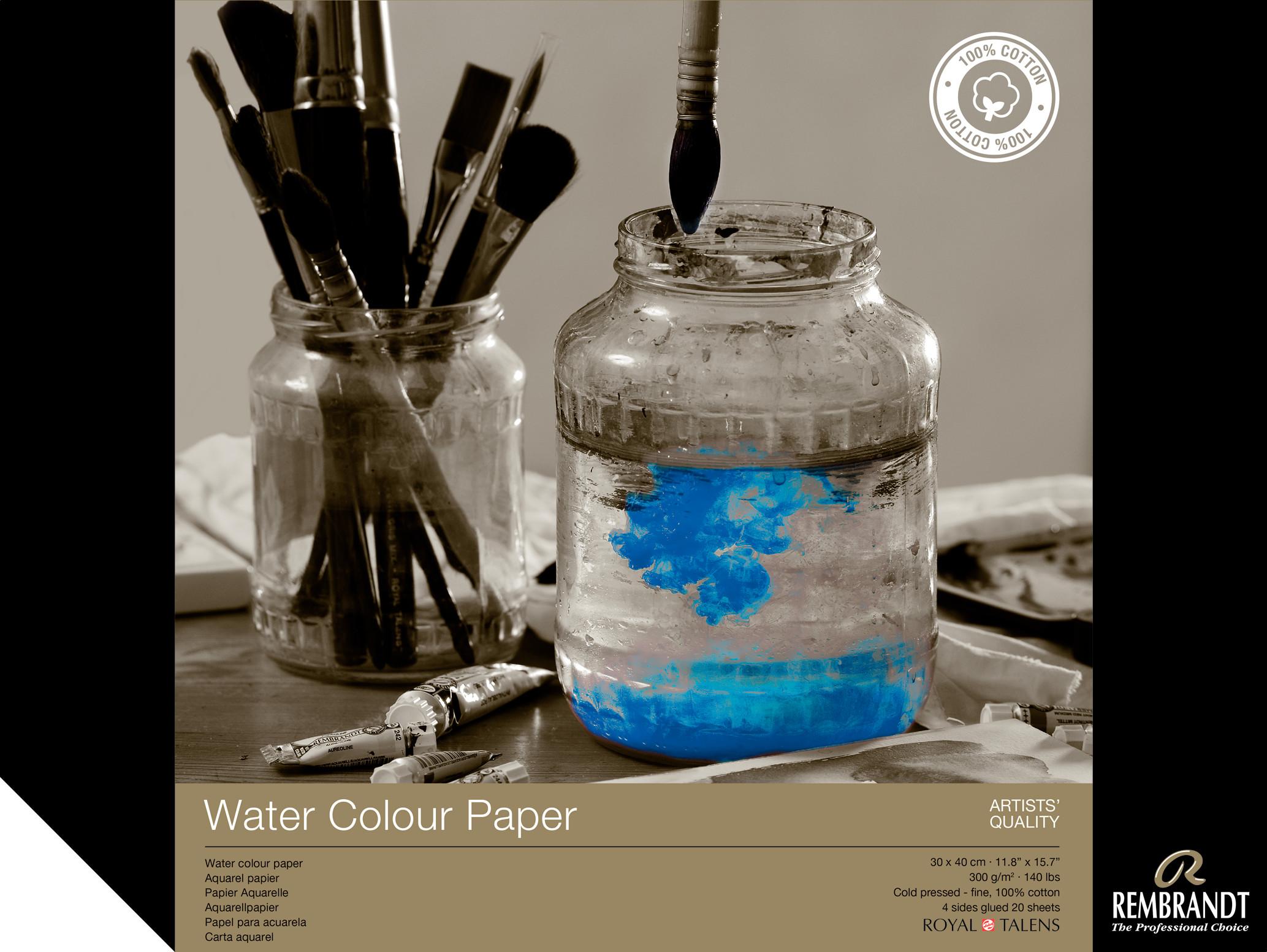 Rembrandt Water Colour Paper 30 X40, 300G, 20 Pages