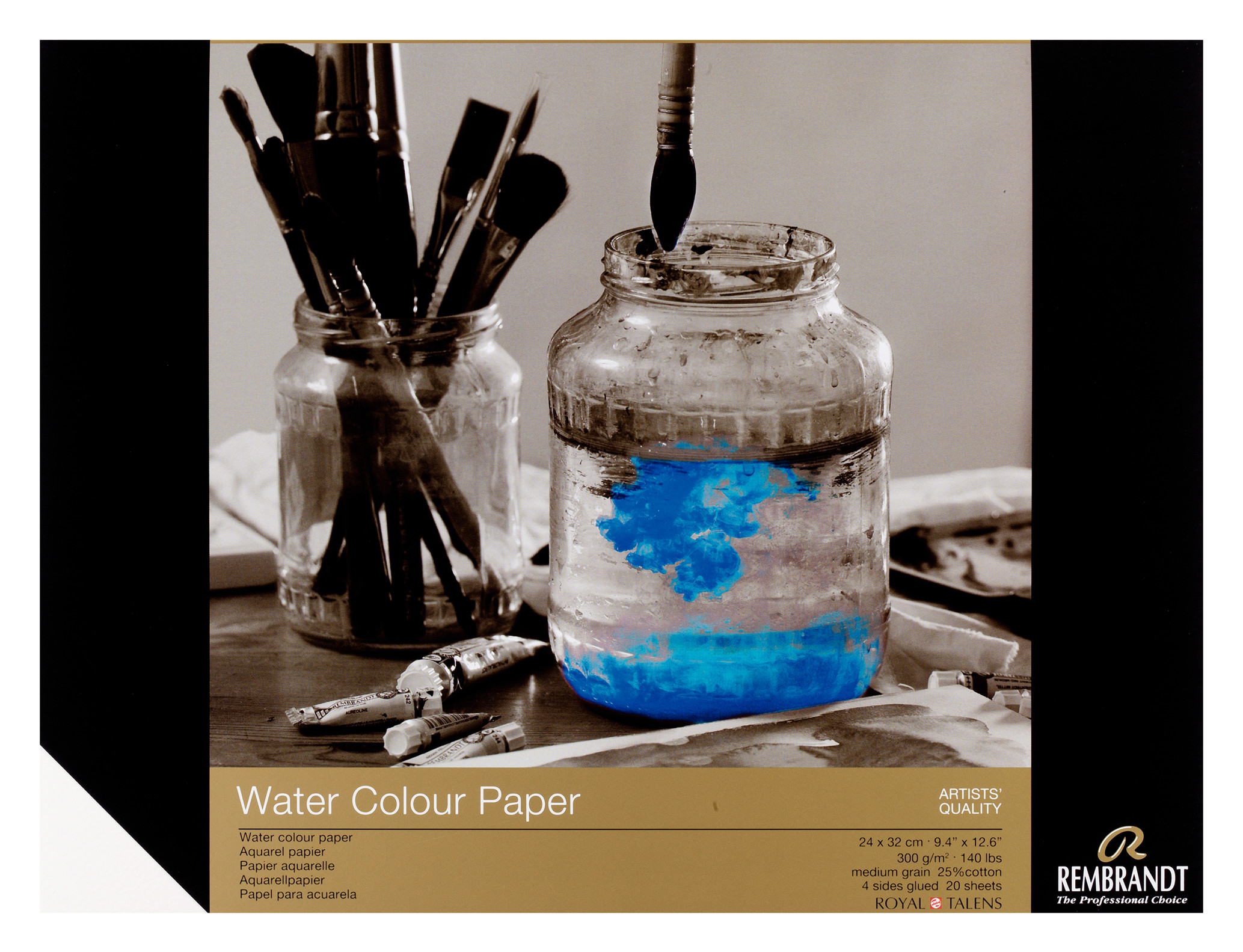 Rembrandt Water Colour Paper 24X32cm