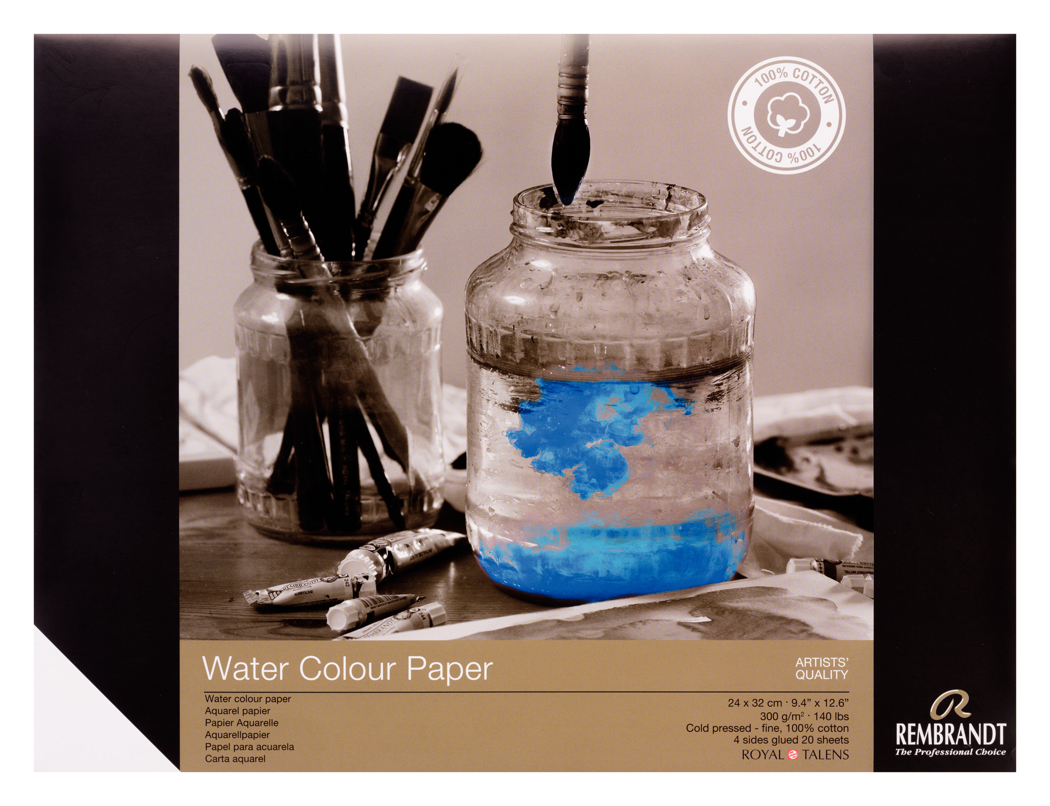 Rembrandt Water Colour Paper 24 X32, 300G, 20 Pages