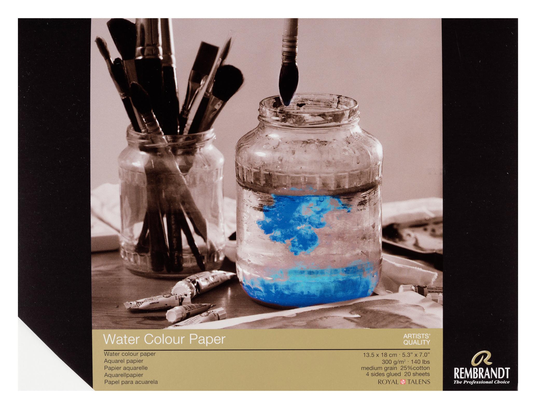 Rembrandt Water Colour Paper 13,5X18cm