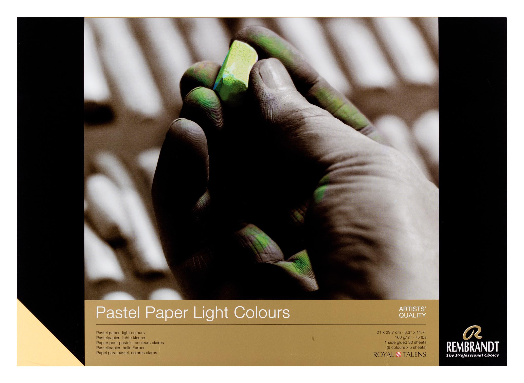 Rembrandt Pastel Paper Light 30 sheets 21X29,7cm 160g