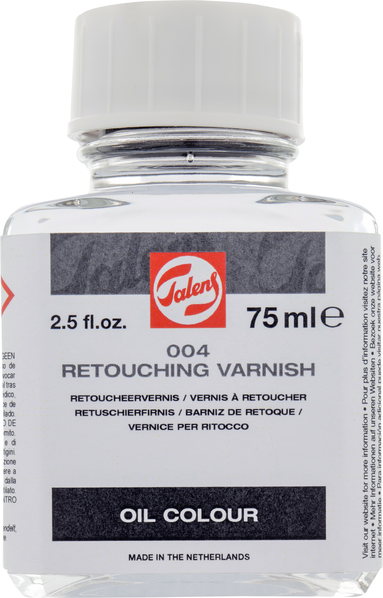 Retouching Varnish Jar 75Ml