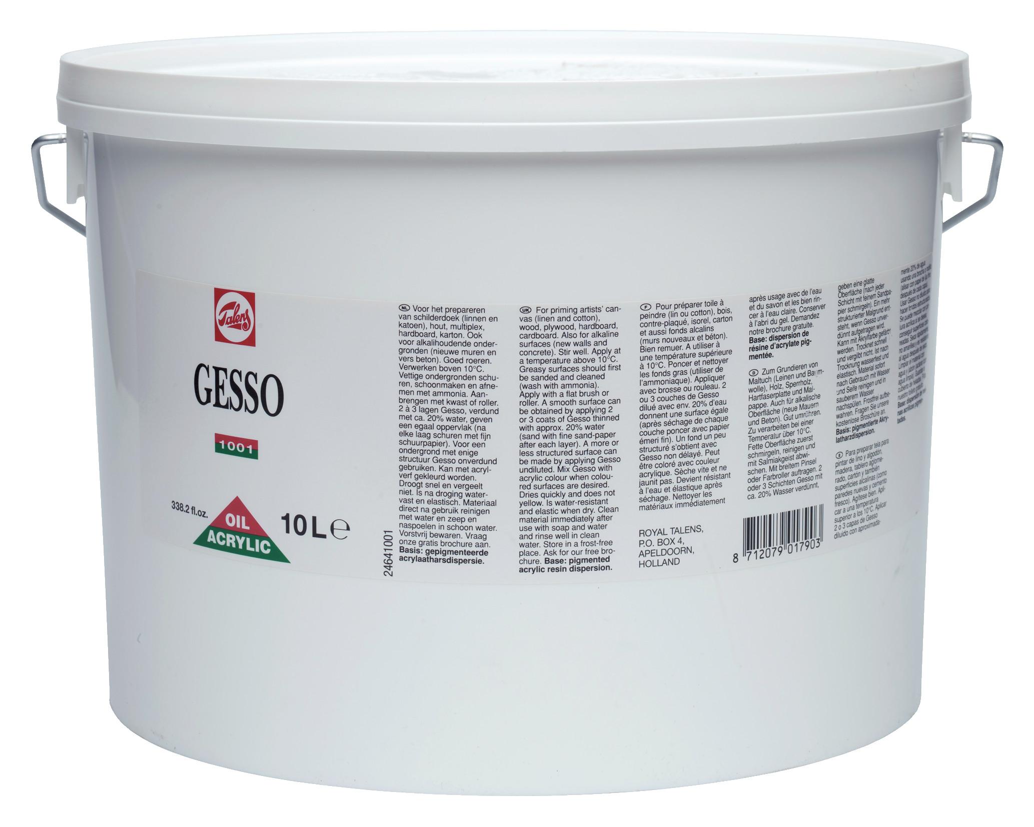 Gesso Primer Bucket 10000 ml