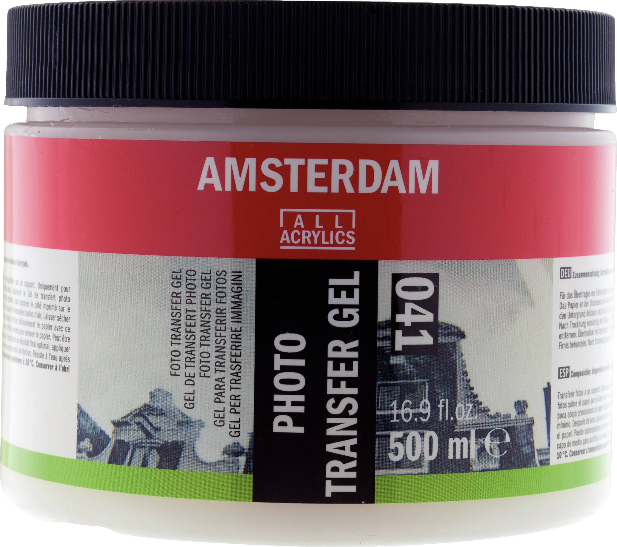 Amsterdam Photo Transfer Gel Jar 500 ml