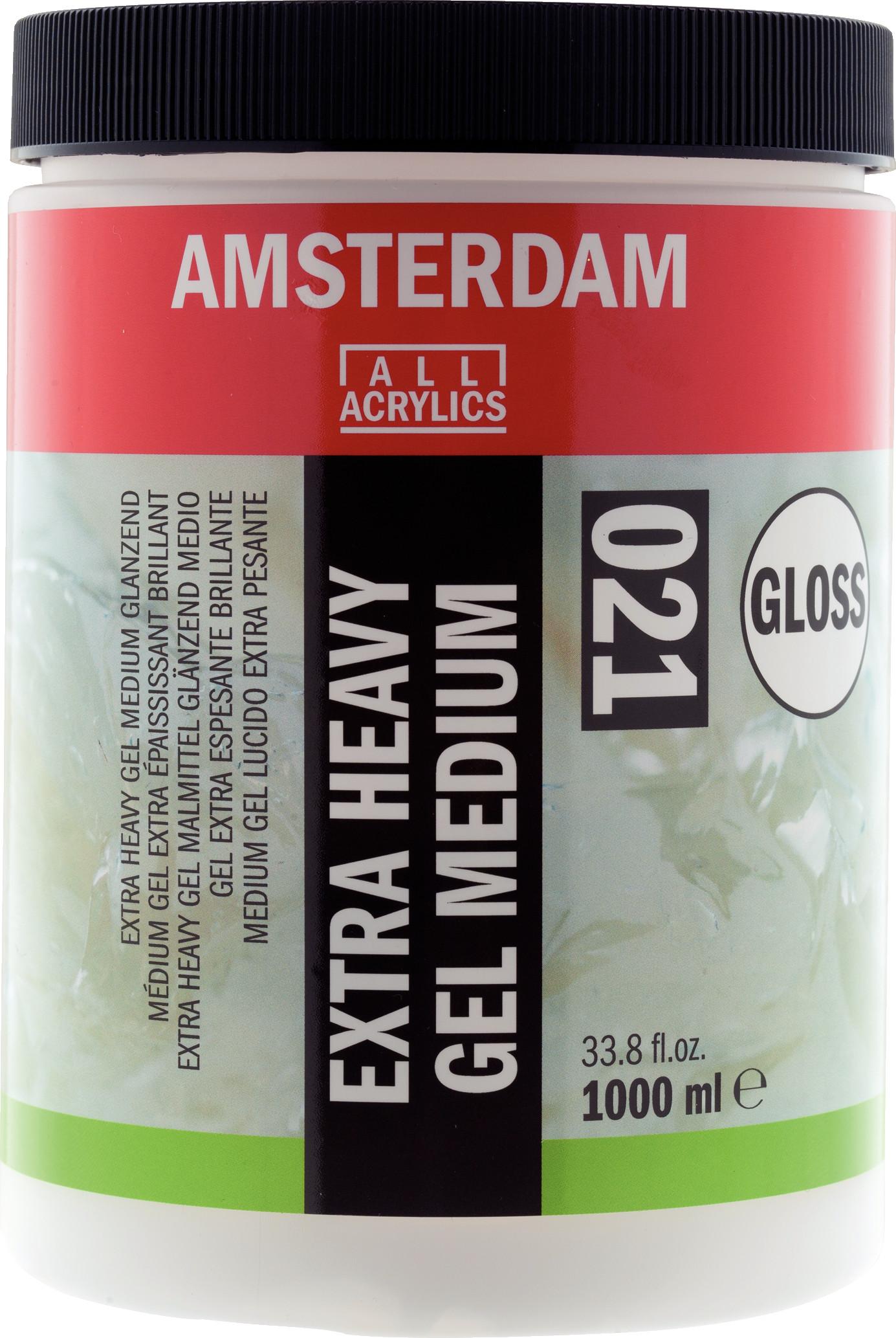 Amsterdam Extra Heavy Gel Medium Gloss Jar 1000 ml