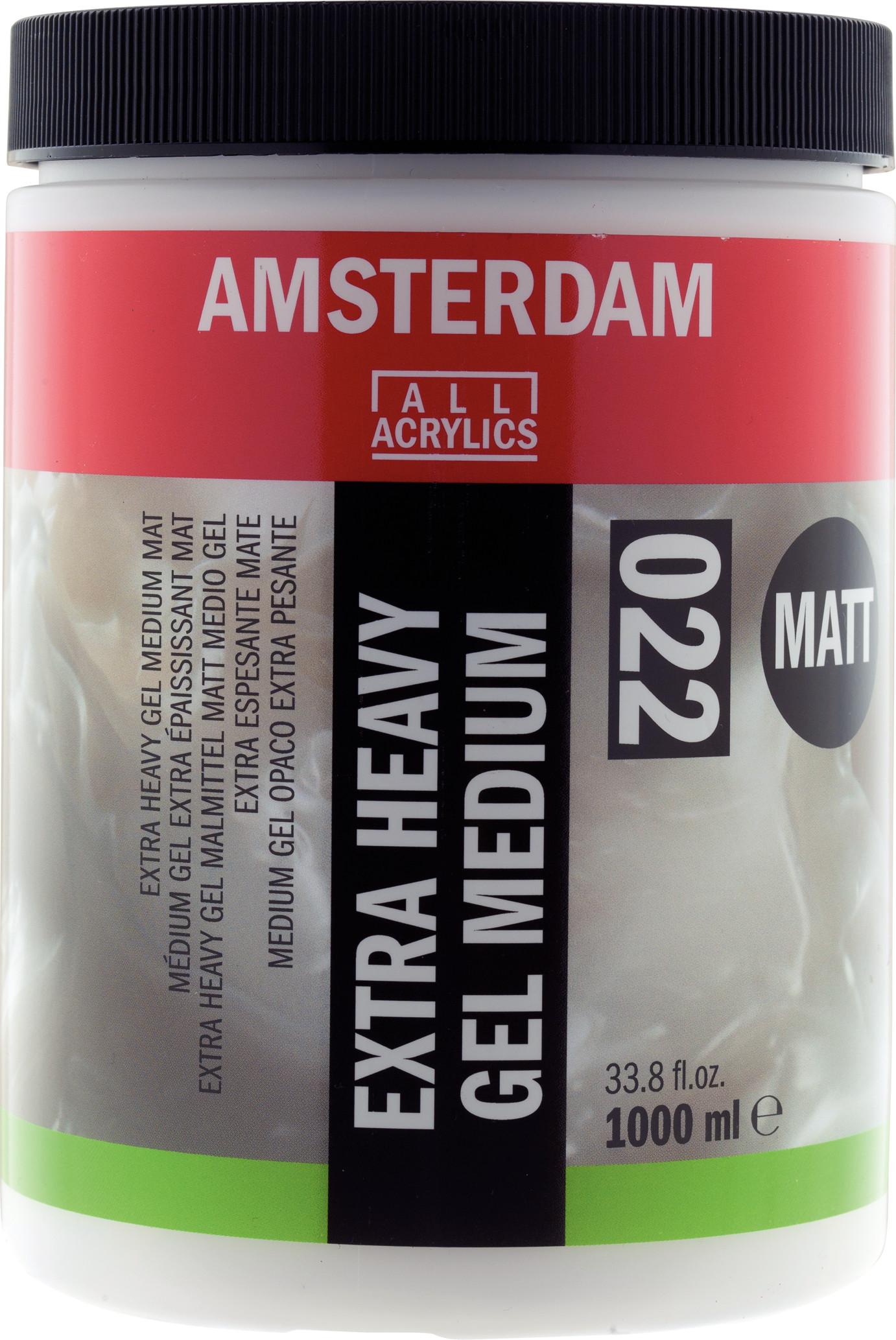 Amsterdam Extra Heavy Gel Medium Matt Jar 1000 ml