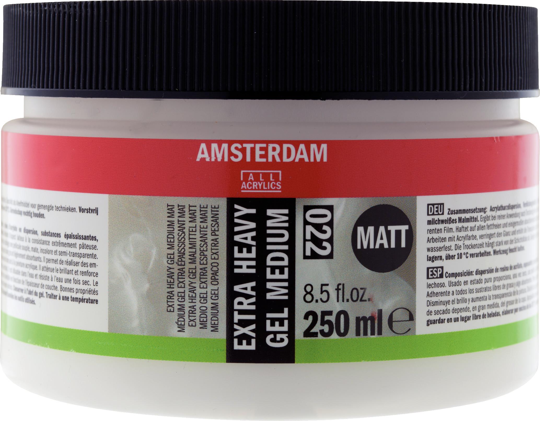 Amsterdam Extra Heavy Gel Medium Matt Jar 250 ml