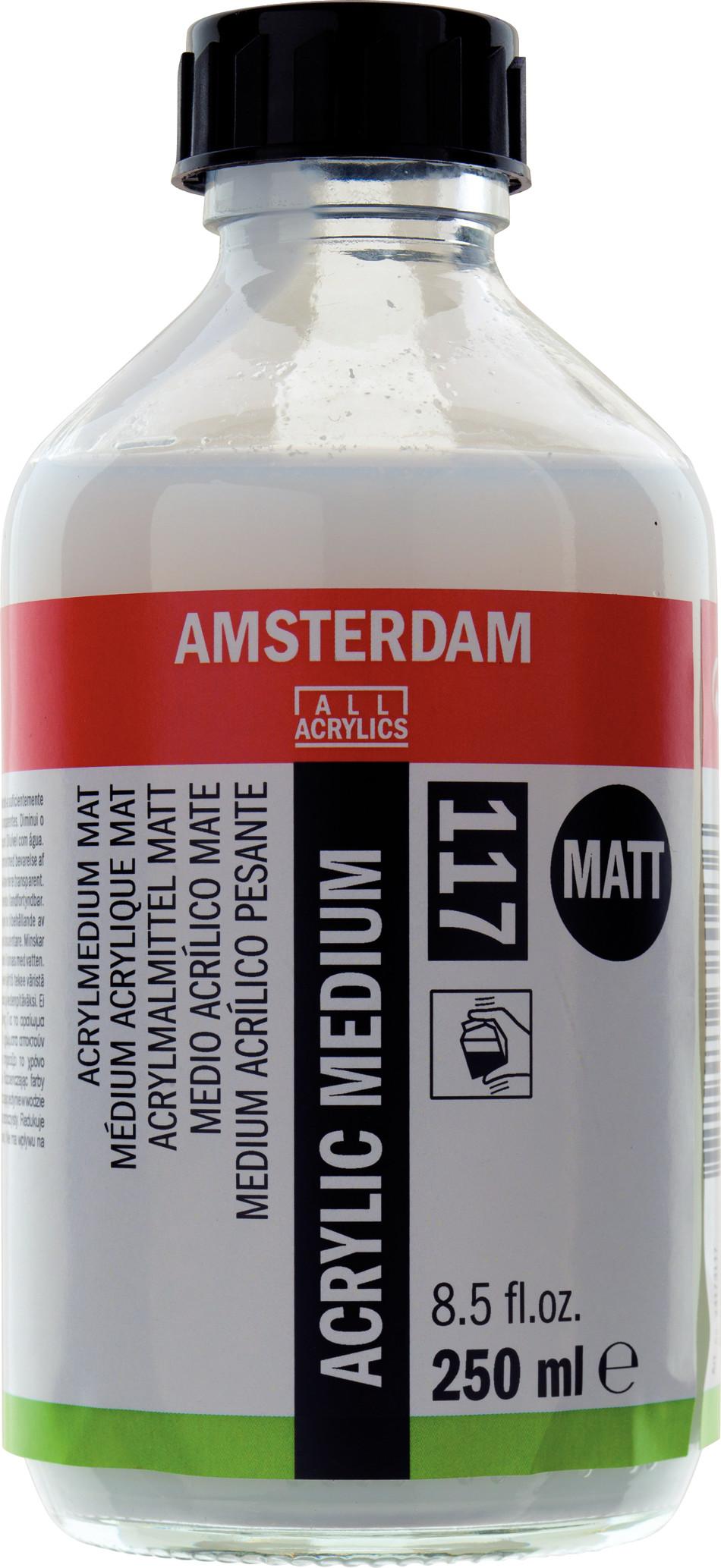 Amsterdam Acrylic Medium Matt Bottle 250 ml