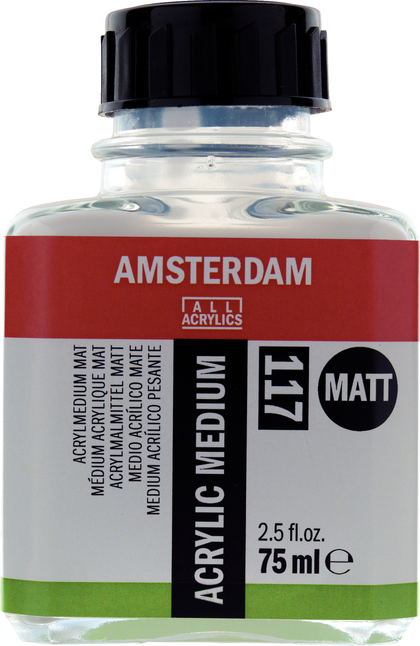 Amsterdam Acrylic Medium Matt Bottle 75 ml