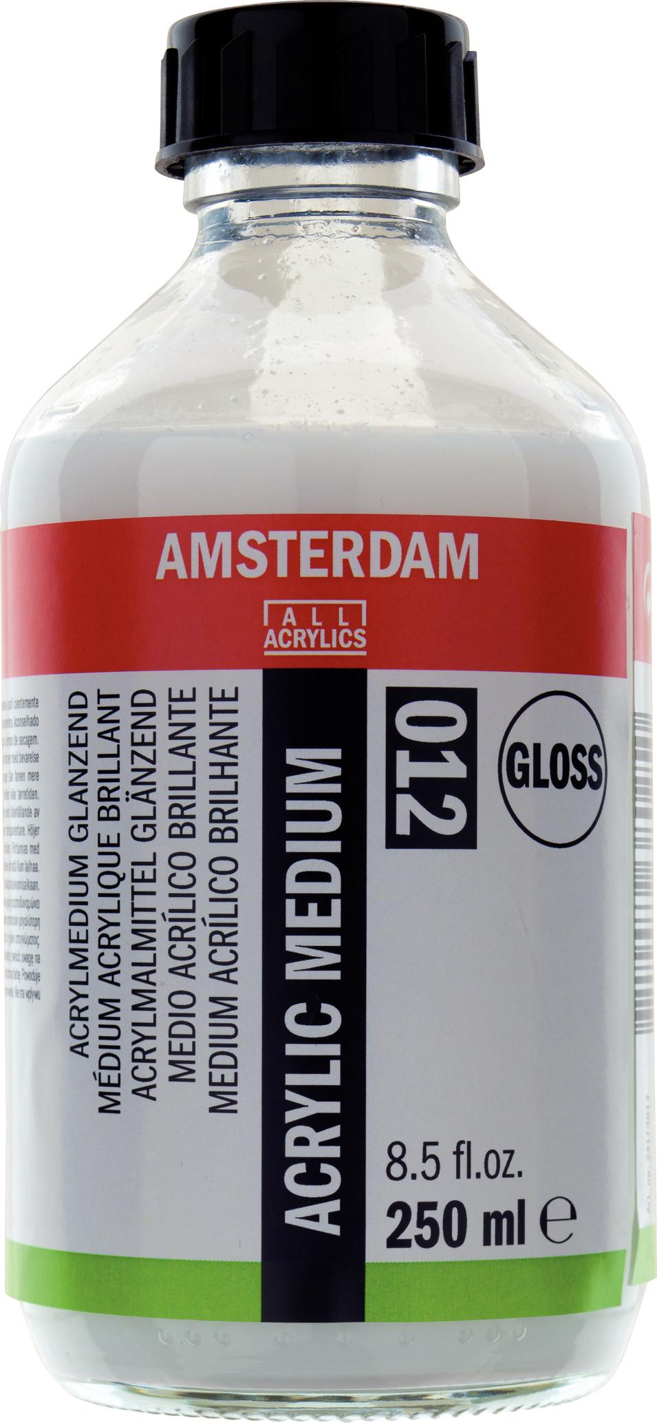 Amsterdam Acrylic Medium Gloss Bottle 250 ml