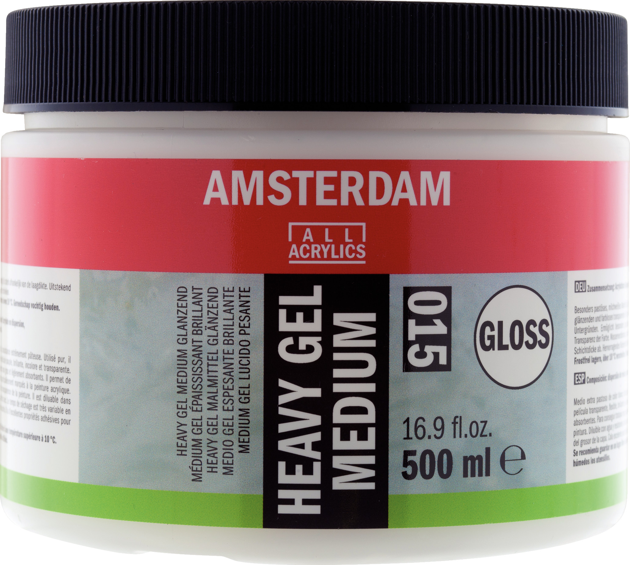 Amsterdam Heavy Gel Medium Gloss Jar 500 ml