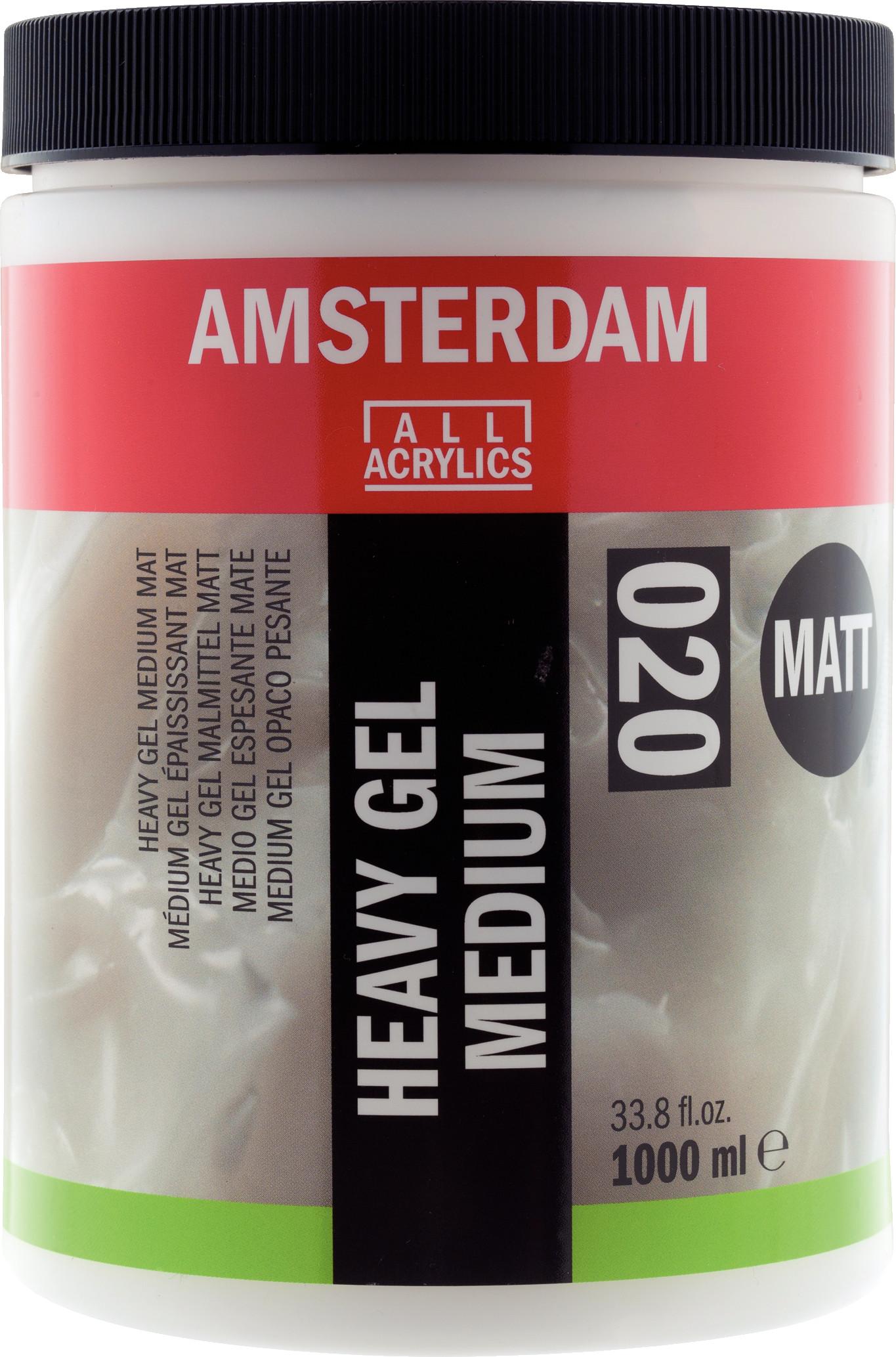 Amsterdam Heavy Gel Medium Matt Jar 1000 ml