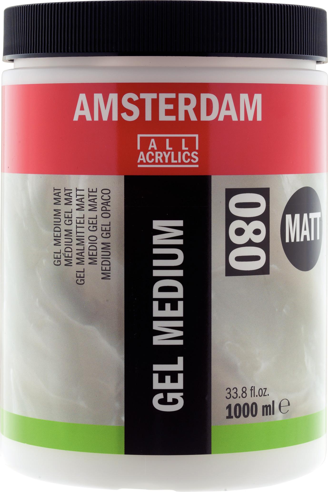 Amsterdam Gel Medium Matt Jar 1000 ml