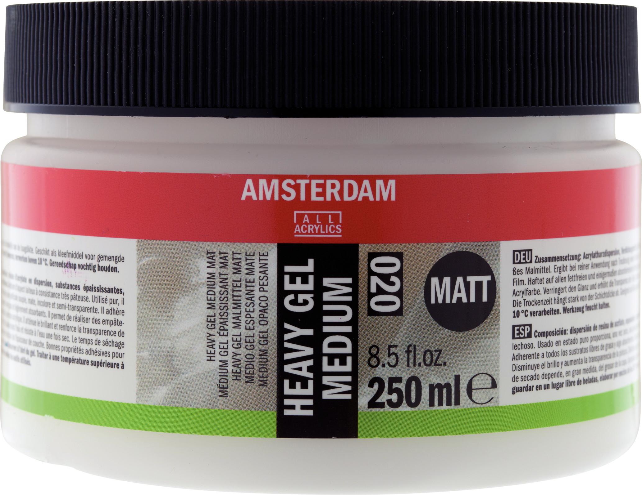 Amsterdam Heavy Gel Medium Matt Jar 250 ml