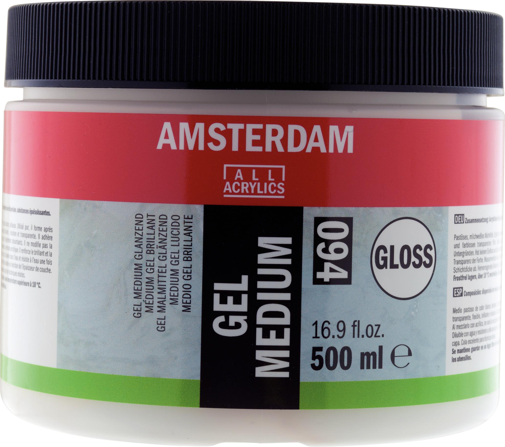 Amsterdam Gel Medium Gloss Jar 500 ml